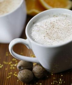 Spiced Winter Warm-Up:  Made with almond milk & tons of vitamin C. Perfect for a cold night in (160 cals).