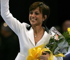Dorothy Hamill at the 2006 U.S. Figure Championships.