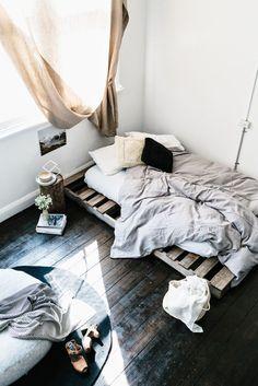 Palet bed