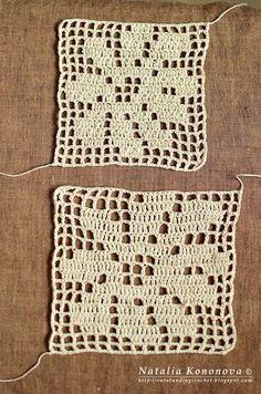 Outstanding Crochet: the perfect filet technique by Natalia Kononova