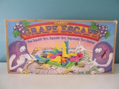Vintage / Retro 1992 The Grape Escape The by PatsVintageShops, $21.00 Had this one