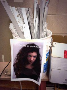Lorde wants the job...