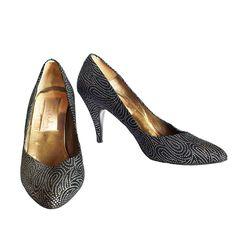 Vintage Zandra Rhodes 80s shoes 80S Shoes, Rhode 80S, 1980S, 80S