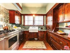 Los Angeles Craftsman Kitchen