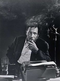 Tennessee Williams at the typewriter