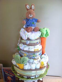 Peter Rabbit theme baby shower