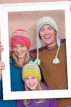 Flash Hats by Victoria Hewerdine Thornton, Interweave Crochet Accessories 2012 #crochet