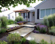 Front Walkway Landscaping Design