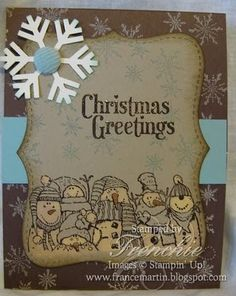 Stamp & Scrap with Frenchie: Stampin'Up Holiday Lineup with bleach