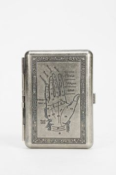 Medusa Tarot Metal Card Case Wallet