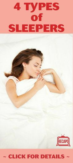 Want to find out which type of sleeper you are? Important to know, because there are dangers and health risks associated which each of the four sleep types. http://www.recapo.com/dr-oz/dr-oz-advice/dr-oz-sleep-type-dangers-over-sleepers-may-have-thyroid-problems/