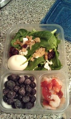 Lots of healthy packed lunch ideas!