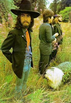 Beatles' Final photo shoot.