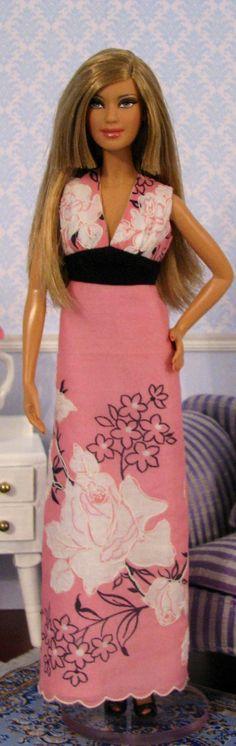 Barbie Doll crochet clothes & misc. on Pinterest | Barbie, Fashion ...