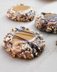 Insanely Delicious Turtle Cookies