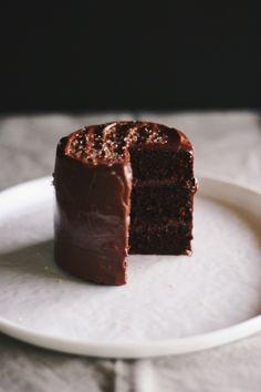 Mini Chocolate Olive Oil Cake