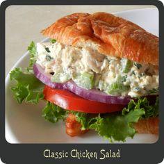 Classic Chicken Salad Recipe - so yummy, made tonight!