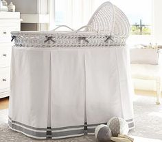 Harper Bassinet Bedding #pbkids
