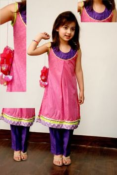Cute and charming Eid dress for girls - Pakistan
