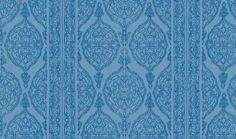 Harem Print  Blue on Blue