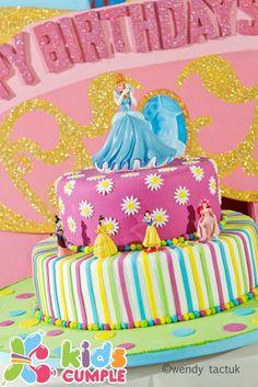 Princesas Disney Cumpleaños Birthday Party