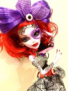 OOAK Monster High Custom Operetta Doll Clothes Pet | eBay