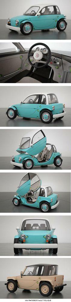 Toyota Camatte I want it! So cute!\ #DanDeeryToyota #ForTheDriven #Scion #Rvinyl  =========================== http://www.rvinyl.com/Scion-Accessories.html