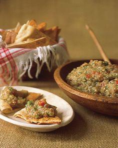 Eggplant Caviar - Martha Stewart Recipes