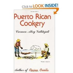 ☀ Puerto Rico ☀Puerto Rican Cookery
