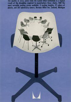 Herman Miller - Blue Chair Ad