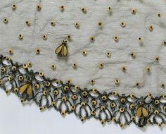French Bee Bonnet veil c.1860 Victoria  Albert Museum