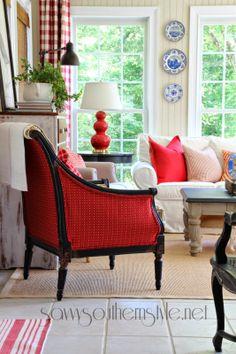 chair, sunroom