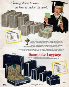 Samsonite, 1950