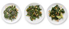 Steamed Spinach via NYTimes