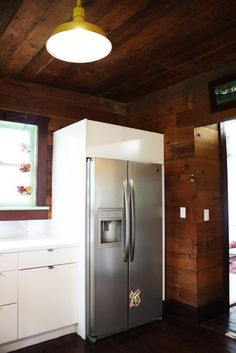 modern rustic kitchn — Erin's Warm & Wood-Wrapped Austin Budget Bungalow   Apartment Therapy