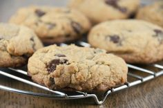 Get fresh bakery style chocolate chip cookies right at home with this quick and easy recipe.  This is the best ever thick chocolate chip coo...
