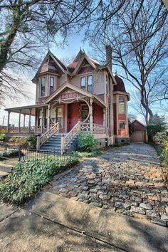 Victorian House built in 1889  #Entry #Home  #Irvine #RealEstate ༺༺  ❤ ℭƘ ༻༻ IrvineHomeBlog.com