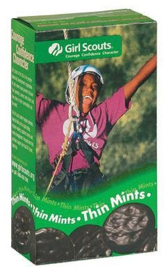 girl scout cookies - thin mints {the best}