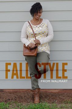 Outfits: Is it Fall Yet? Fall fashion from Walmart, including boots under $30!