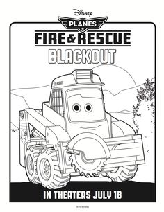 Blackout Coloring Page