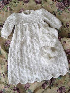 Ravelry: Ocean Breeze Christening Gown pattern by Judy Lamb