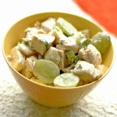 salad recip, chicken breasts, carol chicken, chicken salads, food, art recipes, chickensalad, education, green onions