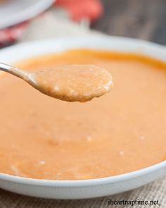 Creamy Tomato-Basil & Cauliflower Soup