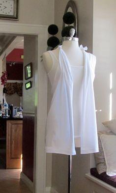 Wobisobi: No Sew, T-Shirt Vest.
