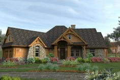 House Plan 120-162 love the lay out if this home! So cozy