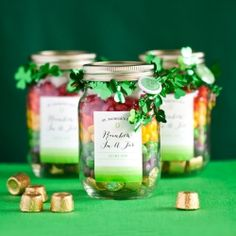 craft, gift, jar, candies, st patrick, blog, rainbow, blues, stpatrick