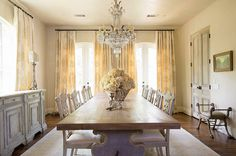 Formal Dining Room, old + new