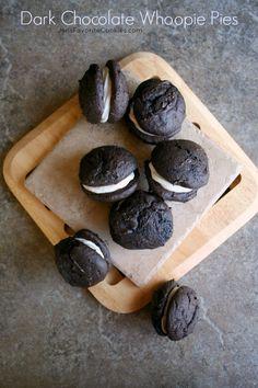 Dark Chocolate Whoopie Pies