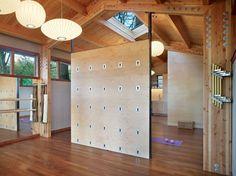 Yoga Studio modern home gym