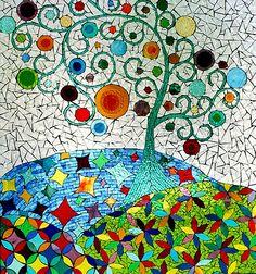 Tree Mosaic Ciel Gallery.  Beautiful...
